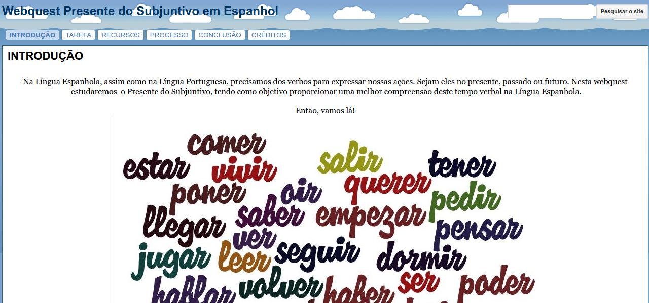 Webquest Espanhol
